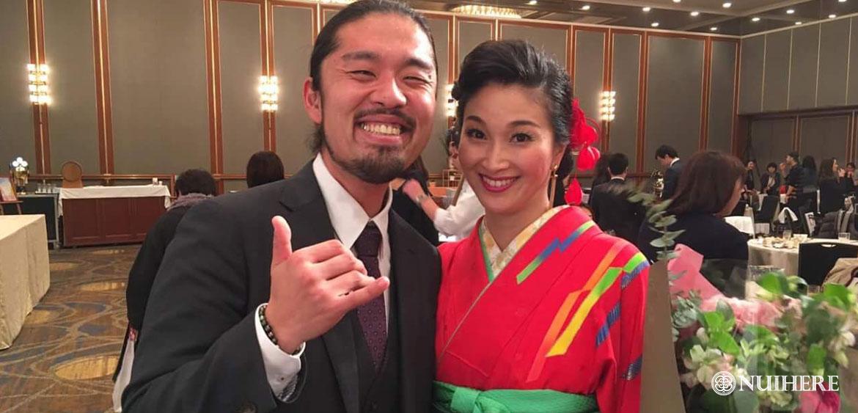 KONISHIKI(小錦)ご夫妻愛用タヒチアンパールペアネックレスはNUIHERE(ヌイヘレ)