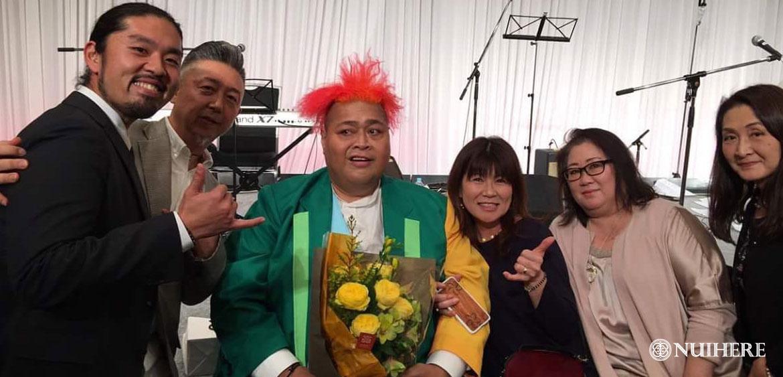 KONISHIKI(小錦)ご夫妻愛用タヒチアンパールペアネックレスはハワイアンジュエリーブランドNUIHERE(ヌイヘレ)
